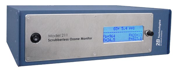 Model 211 Scrubberless Ozone Monitor